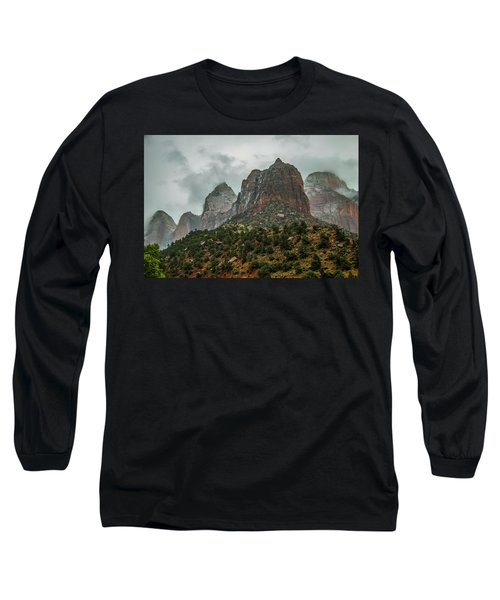 Storm Over Zion Long Sleeve T-Shirt