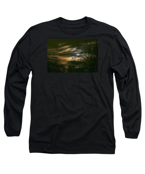 Storm Rollin' In Long Sleeve T-Shirt by J R Seymour
