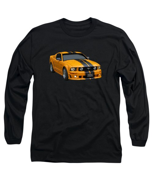 Storming Roush On Black Long Sleeve T-Shirt