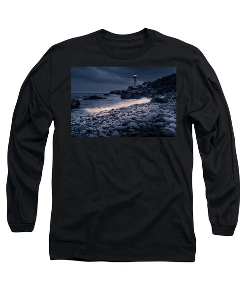 Stormy Lighthouse 2 Long Sleeve T-Shirt