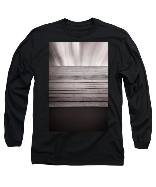 Straight Line Above Long Sleeve T-Shirt