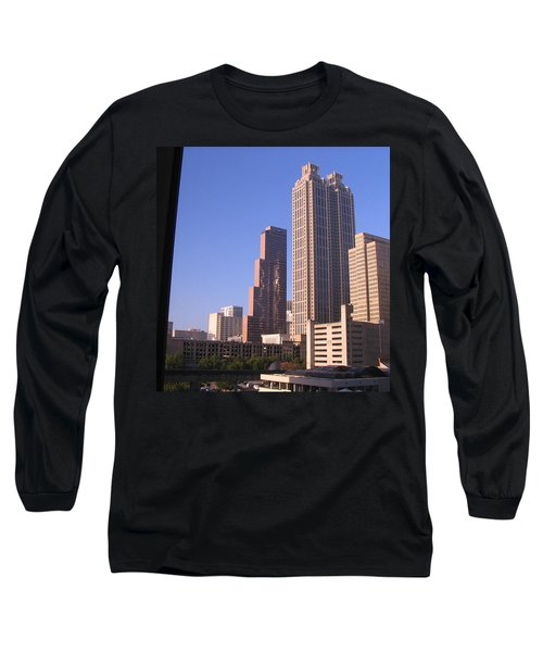 Strange Lights On Georgia Pacific Buiding Long Sleeve T-Shirt