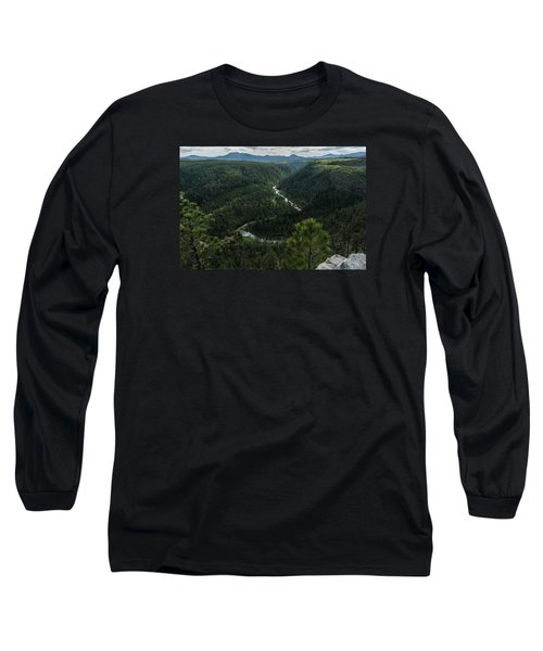 Stratobowl Overlook On Spring Creek Long Sleeve T-Shirt