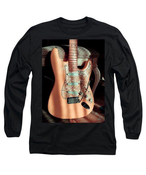 Stratocaster Plus In Shell Pink Long Sleeve T-Shirt