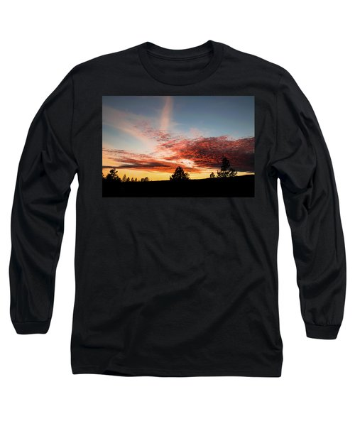Stratocumulus Sunset Long Sleeve T-Shirt