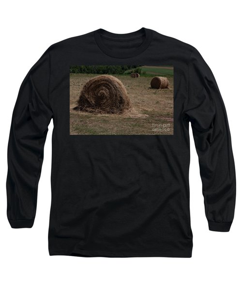 Straw Bales Long Sleeve T-Shirt