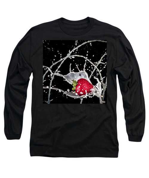 Strawberry Extreme Sports Long Sleeve T-Shirt