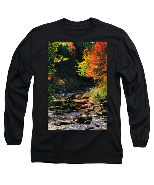 Long Sleeve T-Shirt featuring the photograph Stream by Tom Prendergast