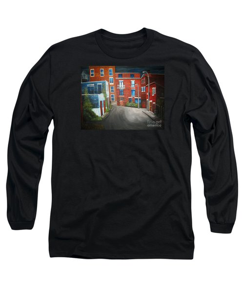 Streets Of Montreal  Joly Long Sleeve T-Shirt