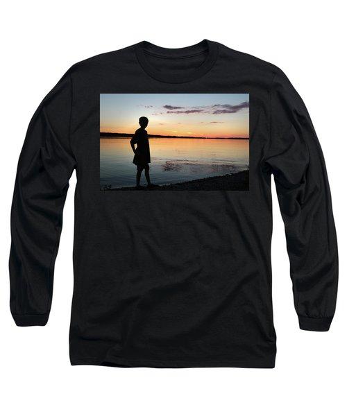 Strength Long Sleeve T-Shirt by Kelly Hazel