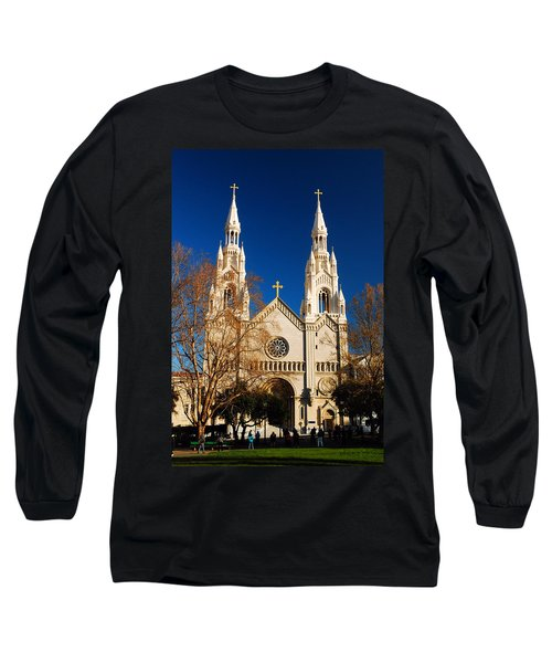 Sts Peter And Paul Long Sleeve T-Shirt by James Kirkikis