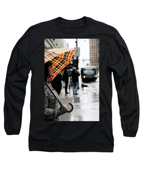 Stuck Down Long Sleeve T-Shirt by Empty Wall