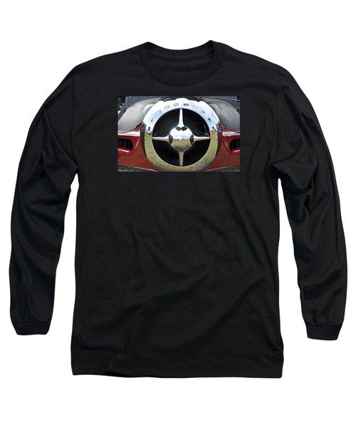 Long Sleeve T-Shirt featuring the photograph Studebaker Chrome by Glenn Gordon