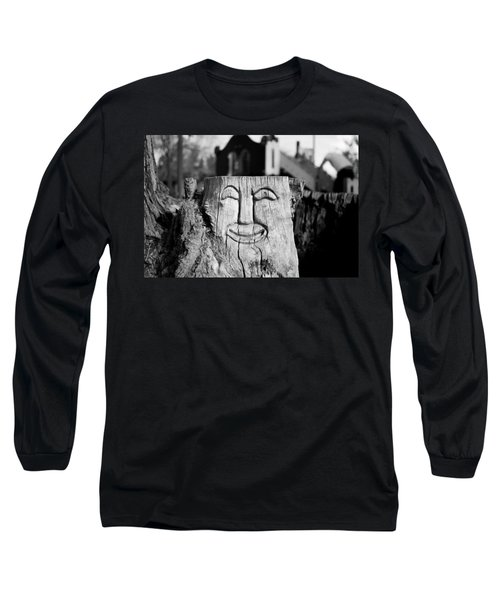 Stump Face 1 Long Sleeve T-Shirt
