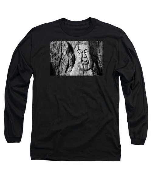 Stump Face 3 Long Sleeve T-Shirt