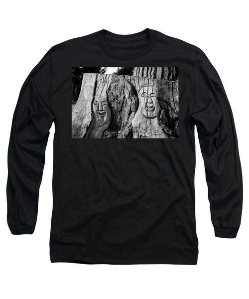 Stump Faces 2 Long Sleeve T-Shirt