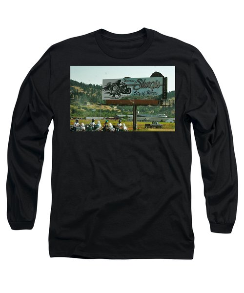 Sturgis City Of Riders Long Sleeve T-Shirt by Anna Ruzsan