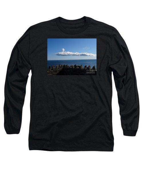 Submarine Cloud Long Sleeve T-Shirt