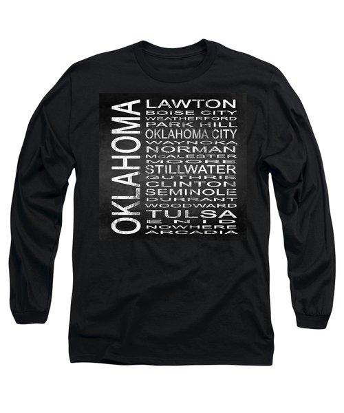 Subway Oklahoma State Square Long Sleeve T-Shirt