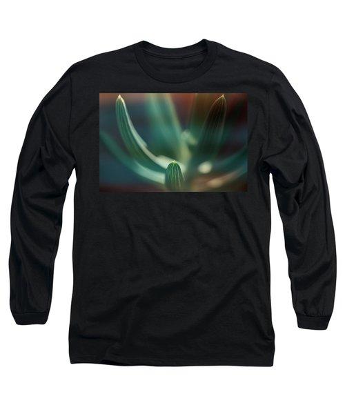 Succulent Emerging Long Sleeve T-Shirt