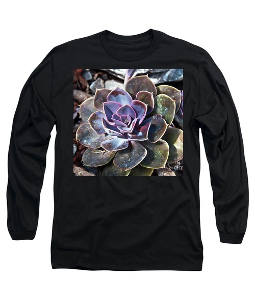 Succulent Plant Poetry Long Sleeve T-Shirt