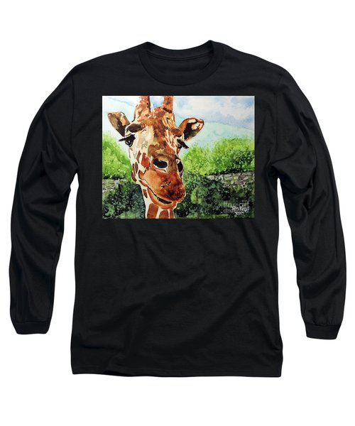 Long Sleeve T-Shirt featuring the painting Such A Sweet Face by Tom Riggs