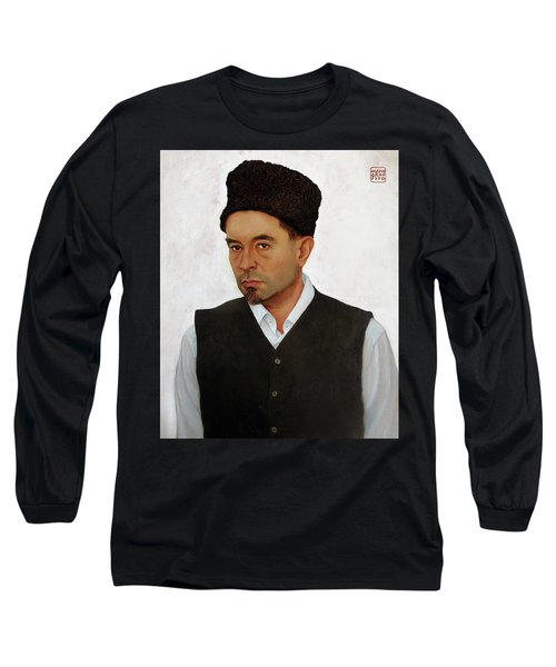 Sufi With Astrakhan Hat Long Sleeve T-Shirt