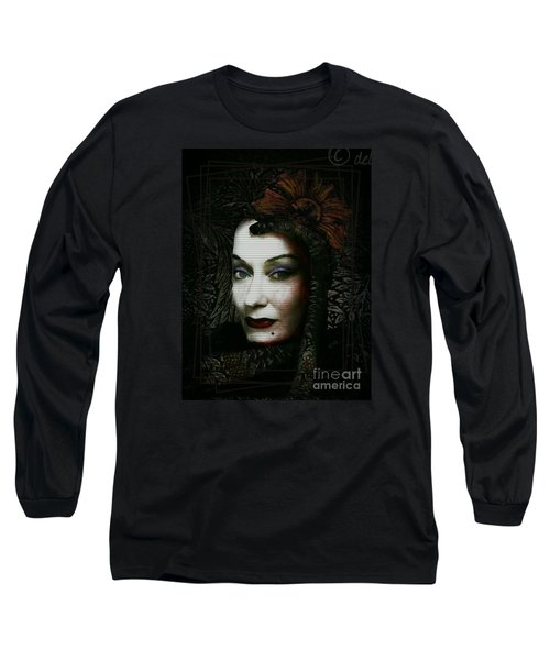 Long Sleeve T-Shirt featuring the digital art Sugar Buster by Delight Worthyn