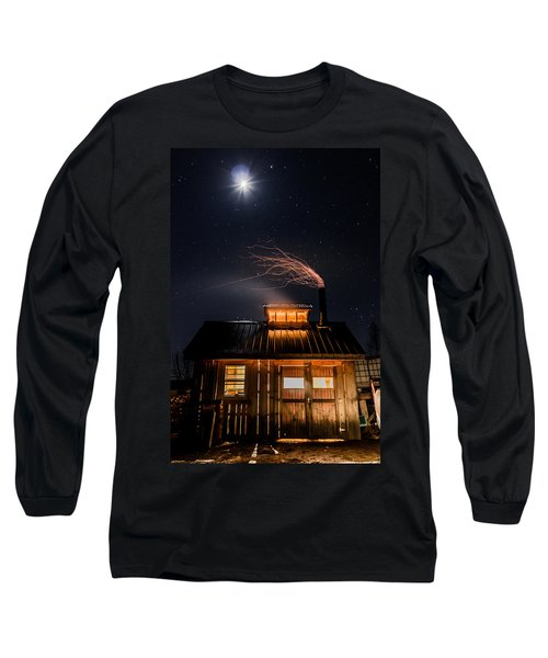 Sugar House At Night Long Sleeve T-Shirt
