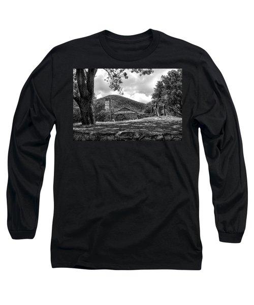 Sugar Plantation Ruins Bw Long Sleeve T-Shirt