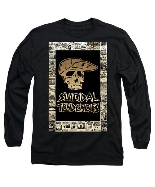 Suicidal Tendencies 2 Long Sleeve T-Shirt by Michael Bergman