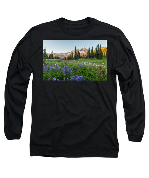 Summer Beauty At Indian Henry's Hunting Ground Long Sleeve T-Shirt
