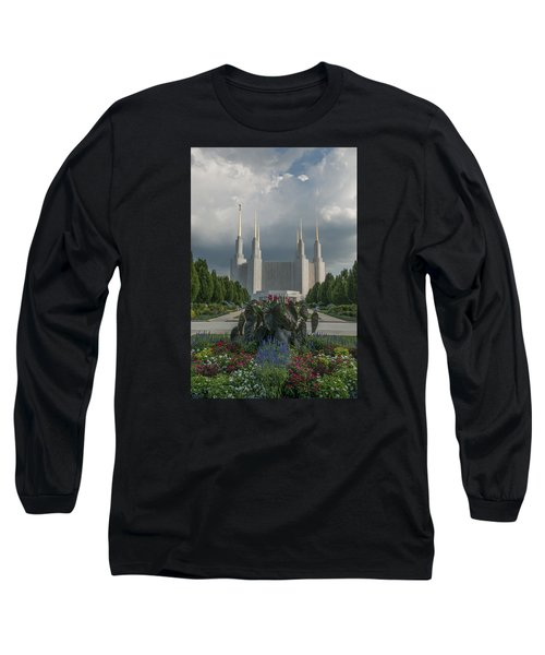 Summer Day At The Lds Long Sleeve T-Shirt