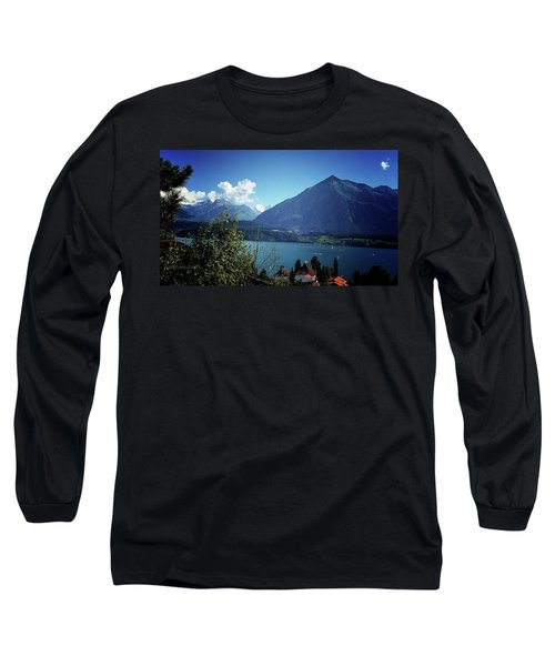 Long Sleeve T-Shirt featuring the photograph Summer Day by Mimulux patricia no No