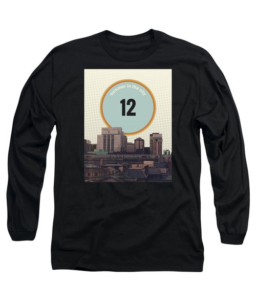 Long Sleeve T-Shirt featuring the photograph Summer In The City by Phil Perkins