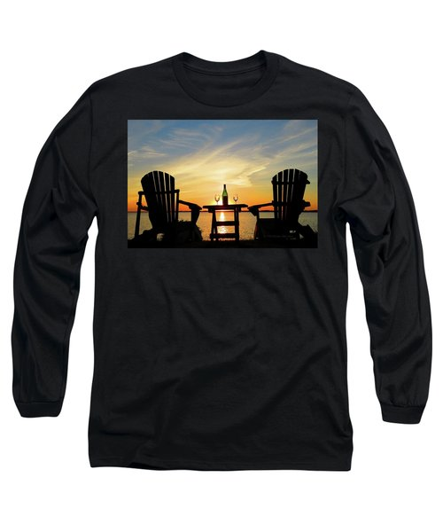 Summer In The River Long Sleeve T-Shirt