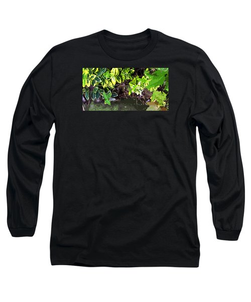 Long Sleeve T-Shirt featuring the photograph Summer Leaves by Spyder Webb