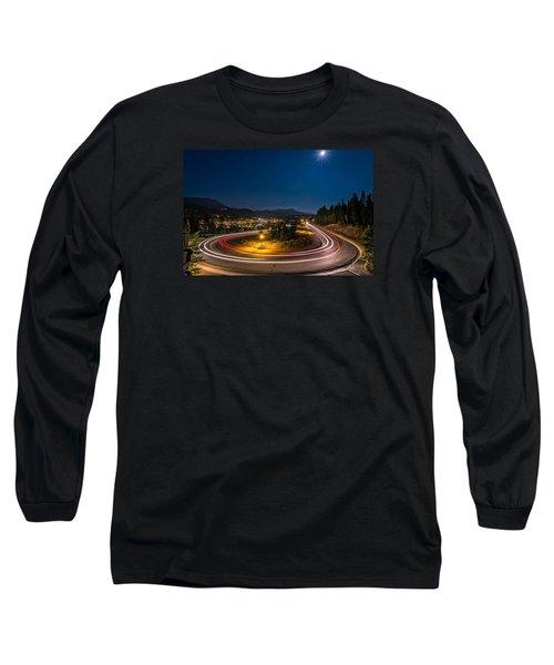 Summer Night Above Breckenridge Long Sleeve T-Shirt by Michael J Bauer