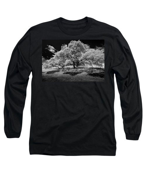Long Sleeve T-Shirt featuring the photograph A Summer's Night by Darryl Dalton