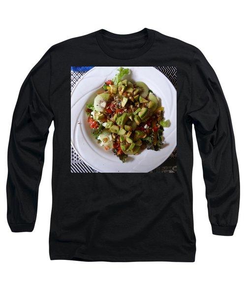 Long Sleeve T-Shirt featuring the photograph Summer Salad by Joel Deutsch