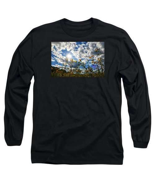 Long Sleeve T-Shirt featuring the photograph Summer Scene by Nikki McInnes