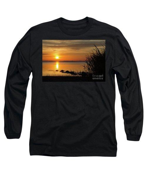 Summer Sunset Long Sleeve T-Shirt by Kennerth and Birgitta Kullman