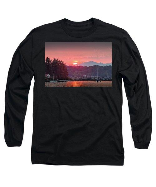 Summer Sunset Over Yukon Harbor.2 Long Sleeve T-Shirt