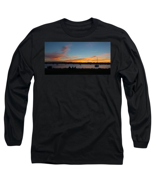 Summer Sunset With Friends Long Sleeve T-Shirt by Kenneth Cole