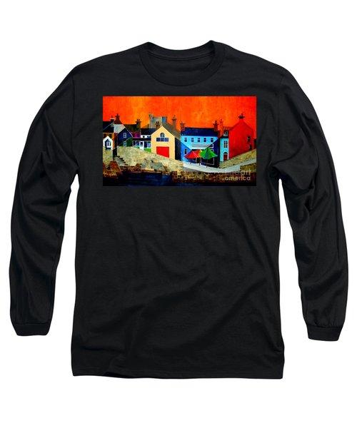 The Bulman, Summercove, West Cork Long Sleeve T-Shirt