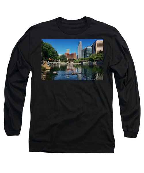 Summertime - Gene Leahy Mall Long Sleeve T-Shirt
