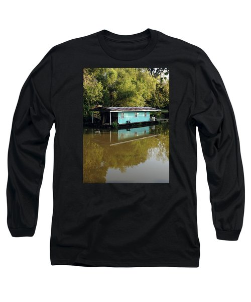 Long Sleeve T-Shirt featuring the photograph Summertime by Helen Haw