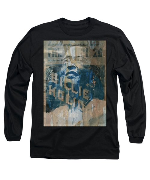 Long Sleeve T-Shirt featuring the painting Summertime by Paul Lovering