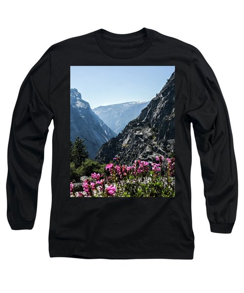 Summits Long Sleeve T-Shirt by Ryan Weddle