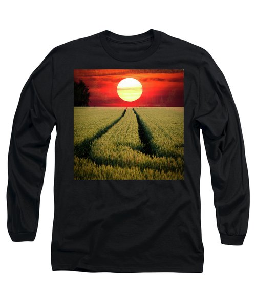 Sun Burn Long Sleeve T-Shirt